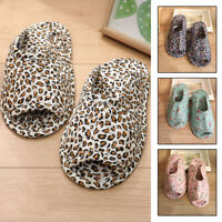 Women Indoor Shoes  Floral Printed Cotton Non-slip Floor Slippers Slip-on Home