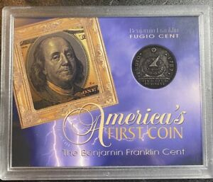 FUGIO 1787 America's FIRST COIN designed by Benjamin Franklin, Rare, Cool item