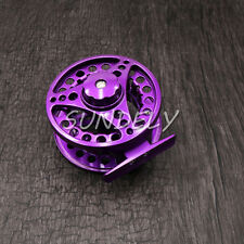Purple 5/6 Aluminum Fly Fishing Reel Right or Left Handed 85mm