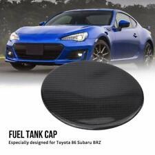 Fuel Cap Gas Tank Cover Trim for Toyota 86 Subaru BRZ Real Carbon Fibre New