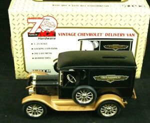 1923 ACE HARDWARE 70th Anniversary 1924-1994 Chevrolet Delivery Bank 1/25  MIB