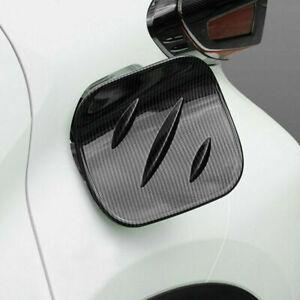 For Toyota C-HR CHR 2017-2020 Carbon Fiber Fuel Gas Tank Cap Cover Trim