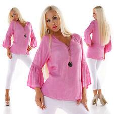 Damenblusen, - tops & -shirts mit V-Ausschnitt und Spitze 36 Größe