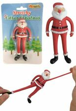 Stretchy Father Christmas - Stocking Toy Loot Party Bag Fillers Childrens Kids
