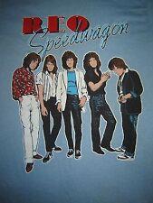 Vintage Concert T-Shirt  REO SPEEDWAGON 81 NEVER WORN NEVER WASHED HI INFIDELITY