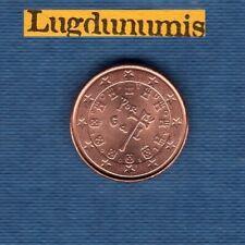 Portugal 2008 1 centime d'euro SUP SPL Pièce neuve de rouleau - Portugal