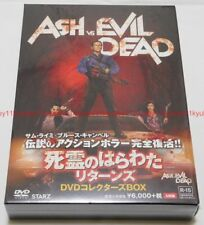 New Ash vs Evil Dead Dvd Box Post Card Japan Fxba-68400 4988142226518