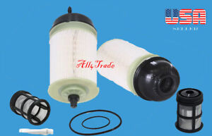 6 Fuel Filter Kit A4720900451 Fit:Freightliner Western Star Detroit Diesel Terex