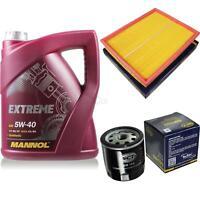 Ölwechsel Set 5L MANNOL Extreme 5W-40 Motoröl + SCT Germany Filter KIT 10129560