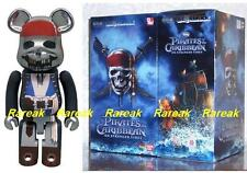 Be@rbrick Bandai BM Pirates of Carribbean 200% Chogokin Stranger Tides Bearbrick