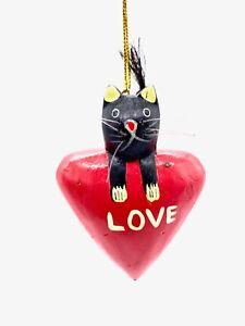 Cat Love Ornament