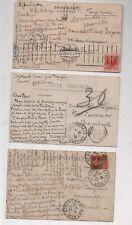 3 cartes postales autographes de Roger Reboussin peintre