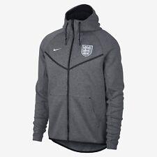0da1ecf2e408 Nike Tech Fleece England Soccer Football Windrunner Jacket Grey Men Size S  NWT!