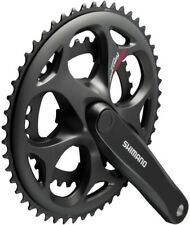 Shimano Crankset Tourney Fc-a070 7/8-speed Compact 50-34 Teeth 170 mm Black