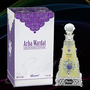 ARBA WARDAT 30ml -RASASI (Attar) Official Distributors Rasasi UK.EU