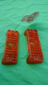 1968 Chevy Nova Parking Light Lens Amber Guide 11 Sae DP68