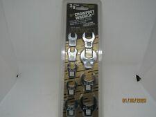 9pc Crowfoot Sae Wrench Set True Craft 6378
