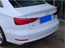 Painted Gloss Black AUDI A3 S3 8V Saloon 13-2018 REAR Boot Spoiler Lip Wing