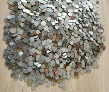 Grote lot pre - euro Belgisch munten 12,5 kilo + 250 gram oude munten