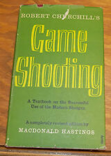 1955 Book  ///  GAME SHOOTING, by Macdonald Hastings