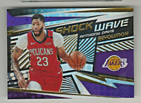 2019-20 Panini Revolution SHOCK WAVE #17 ANTHONY DAVIS Los Angeles Lakers