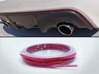 "For 15-19 SUBARU WRX STI 6mm 1/4"" Pinstripe Front Grille Red Stripe Molding 5M"
