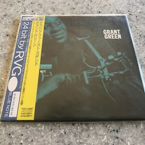 Grant's First Stand by Grant Green Japan mini LP paper sleeve CD Obi