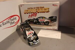 1997 John Force Castrol '96 Driver of Year 1/24 Action NHRA Diecast Autographed