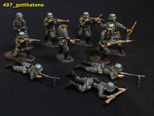 German 6-10 Airfix Toy Soldiers