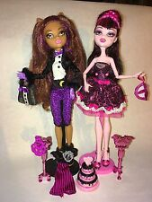 Pre-owned Monster High Sweet 1600 Draculaura And Clawdeen Wolf