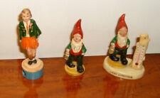 3 Vintage Irish Souvenirs (1960s) Step Dancer Pencil Sharpener and 2 Leprechauns