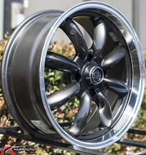 17X7.5 ROTA RB RIM 4X100 WHEELS ET45MM ROYAL GUN METAL EXCLUSIVE FOR MINI COOPER