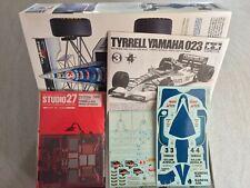 Tamiya Tyrrell 023 1/20 + Studio27 PHD