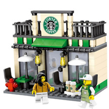 "Lego Compatible ""Retail Store"" Builing Blocks - Star Coffee Shop"