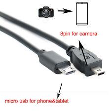OTG cord for KONICA Minolta DiMage A200 E323 E500 x50 x60 Z10 220 z3 z5 z6