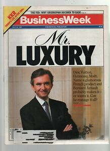 Business Week - July 30, 1990 - Mr. Luxury, Bernard Arnault, Greenspan, KKR LBOs