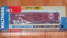WALTHERS 932-4163 GOLD LINE EXPRESS CAR ALASKA
