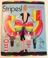 Stripes! Paper Dolls - fun fashions by David Wolfe/Julie Allen Matthews