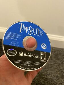 TimeSplitters: Future Perfect Nintendo GameCube, 2005 Authentic Disc Only Tested