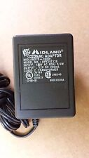 Midland 18-396W Dpx351326 Power Supply Adapter 12V Dc 200mA