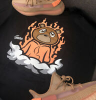 Shirt To Match Yeezy Clay 350  - Fly Bear Shirt