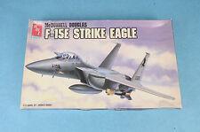 VINTAGE AMT F-15E STRIKE EAGLE 1/72 SCALE MODEL MILITARY AIRPLANE KIT UNBUILT