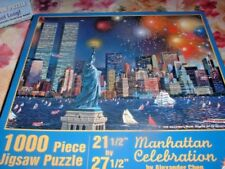 MANHATTAN CLEBRATION ~ 1000 PC PUZZLE,   FROM SUNS OUT, BY CHEN, #AC56201