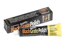 STOVAX WOODBURNER BLACK GRATE POLISH BLACK POLISH GRAPHITE FIRE POLISH ZEBO