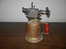 ANTIQUE VINTAGE BRASS BLOWTORCH