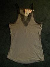 NWT  ~ Gray Stripe  Tank Top  ~ Junior  Size M  ~ Retail $26 ~ by SO