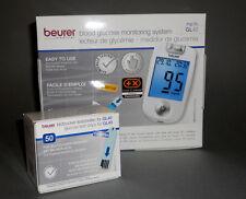 blutzuckermg. Beurer GL 40 mg / DL incl. 55 STRISCE REATTIVE