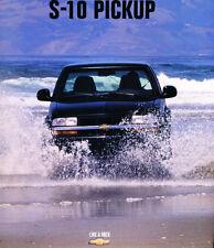1998 Chevrolet S-10 Truck ZR2 SS Sales Brochure Book