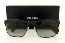 Brand New Prada Sunglasses 51O 51OS FAD 3M1 MATTE BLACK GRAY GRADIENT LENSES Men