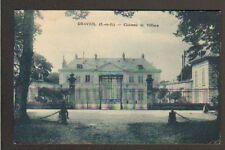 DRAVEIL (91) GRILLE en Fer Forgé du CHATEAU DE VILLIERS en 1937